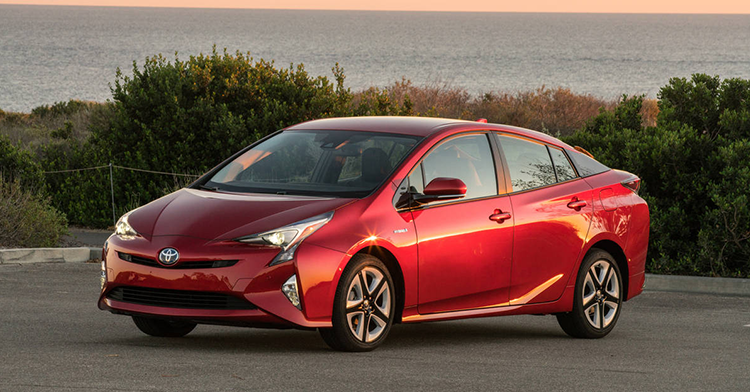 Toyota Prius 2016 Red
