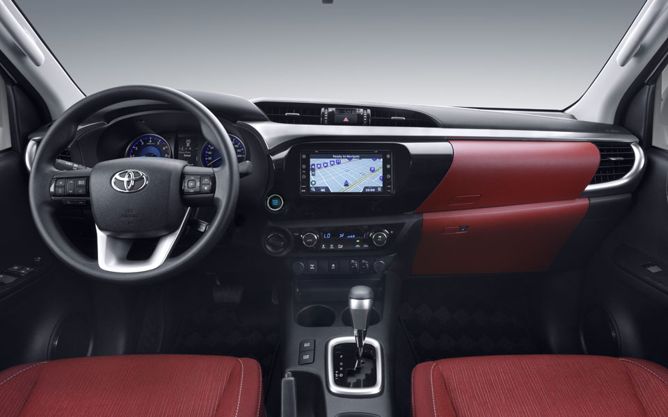 Toyota Hilux 2018 Red Interior