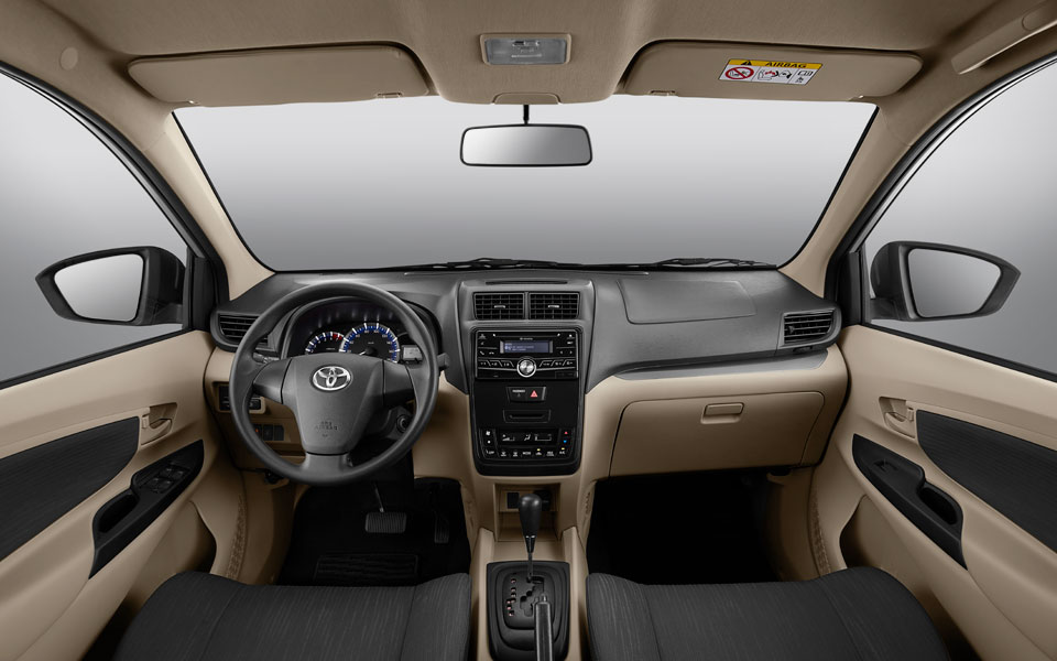 flexible and spacious interior in toyota avanza 2020