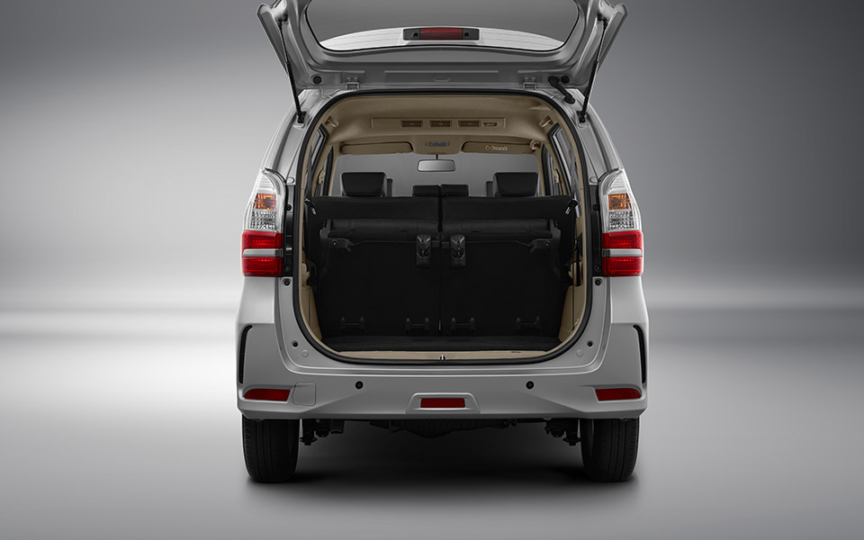 practical storage in toyota avanza 2020