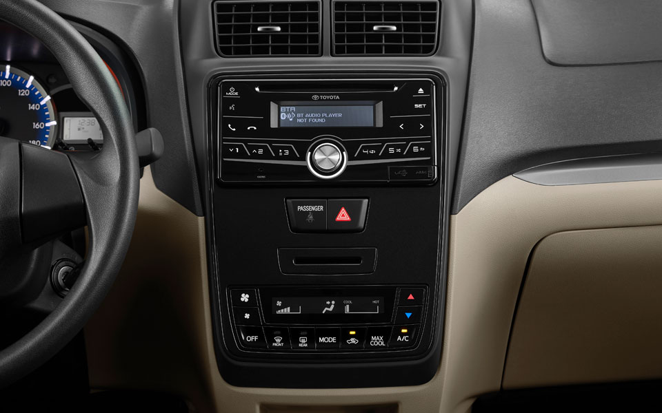 sophisticated audio system in toyota avanza 2020