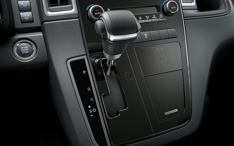 The 6-speed Super ECT in toyota granvia 2020
