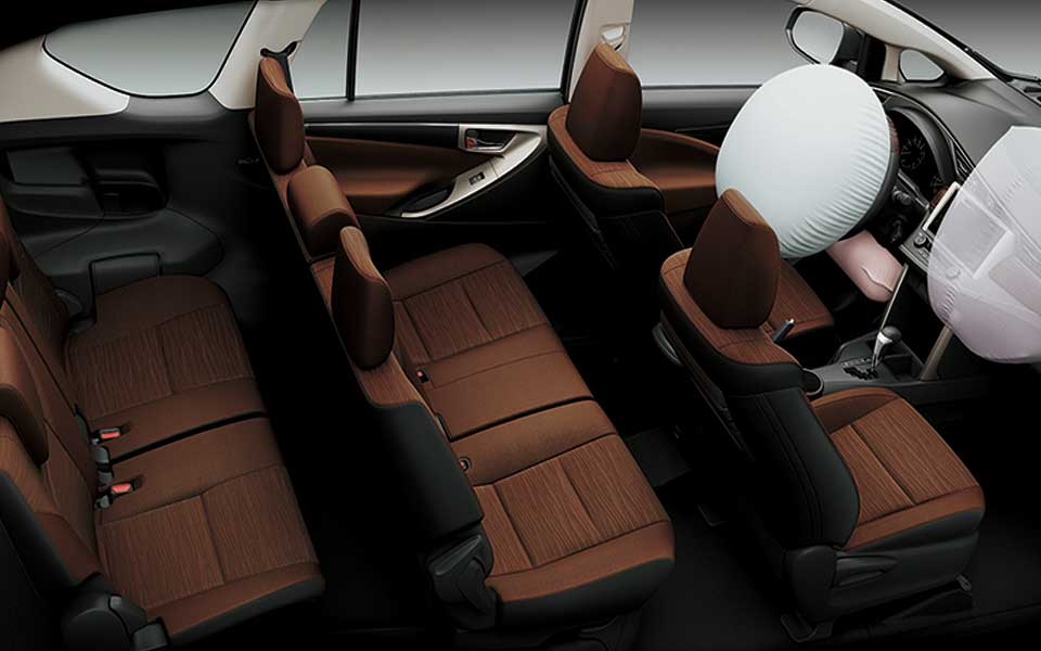 airbags in toyota innova 2020