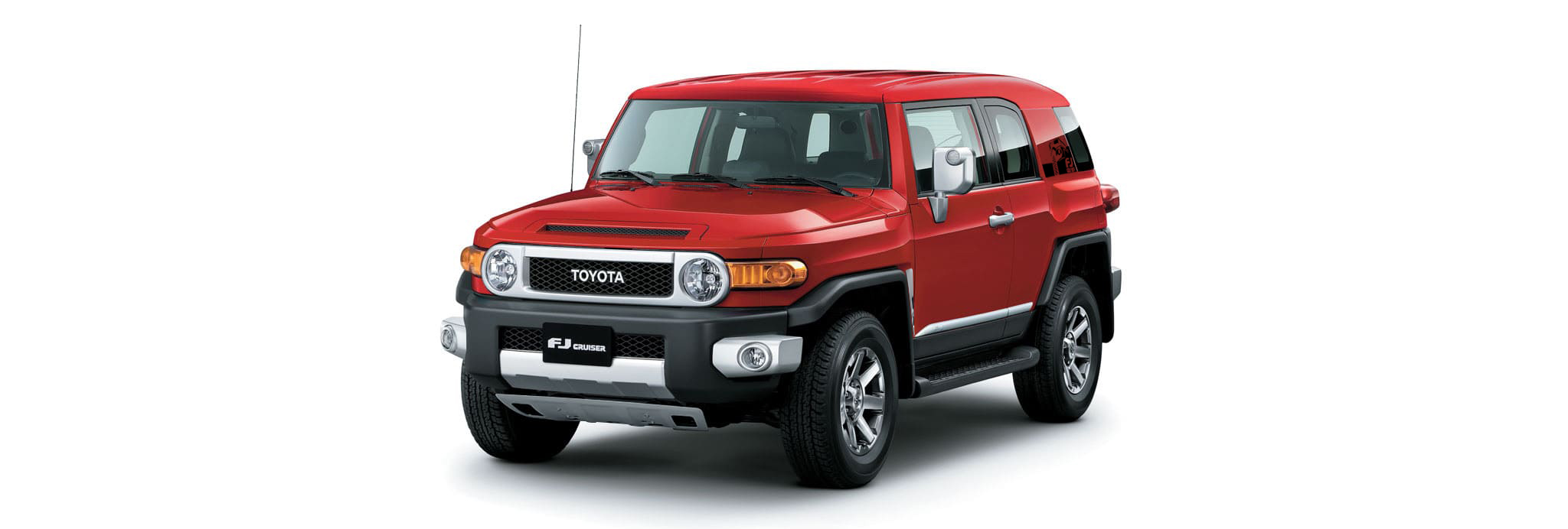 Toyota FJ-Cruise SUV Red 2018