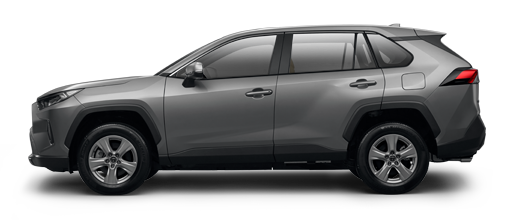 toyota rav4 silver side-view 2019