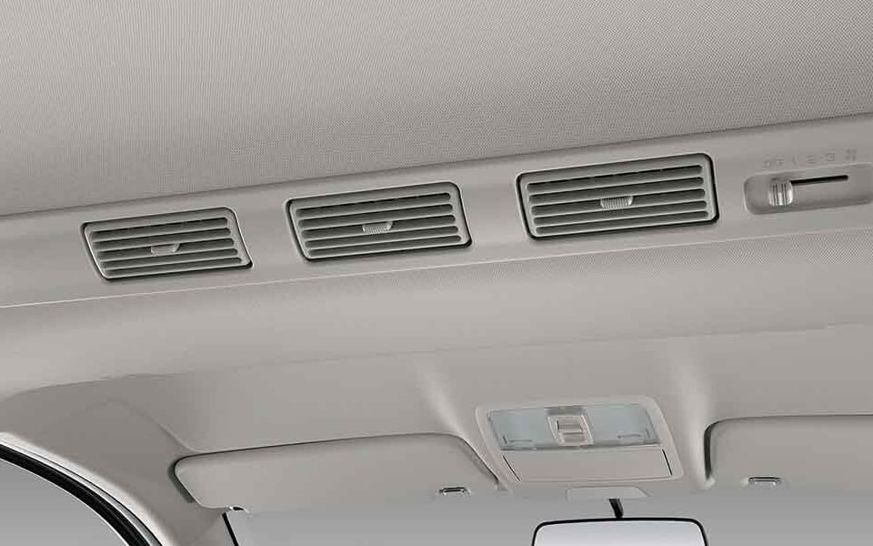 Rear air conditioner inside toyota Rush 2020