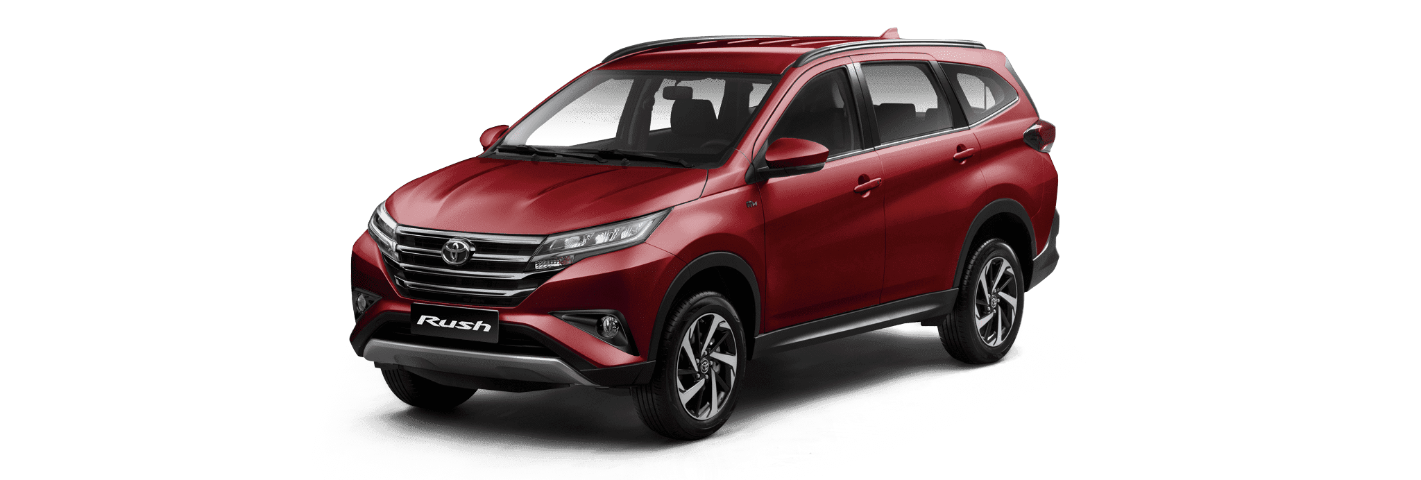 Toyota Rush SUV Red